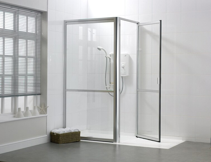Douches adapt es jacques pilon medical inc - Porte de douche sur mesure castorama ...
